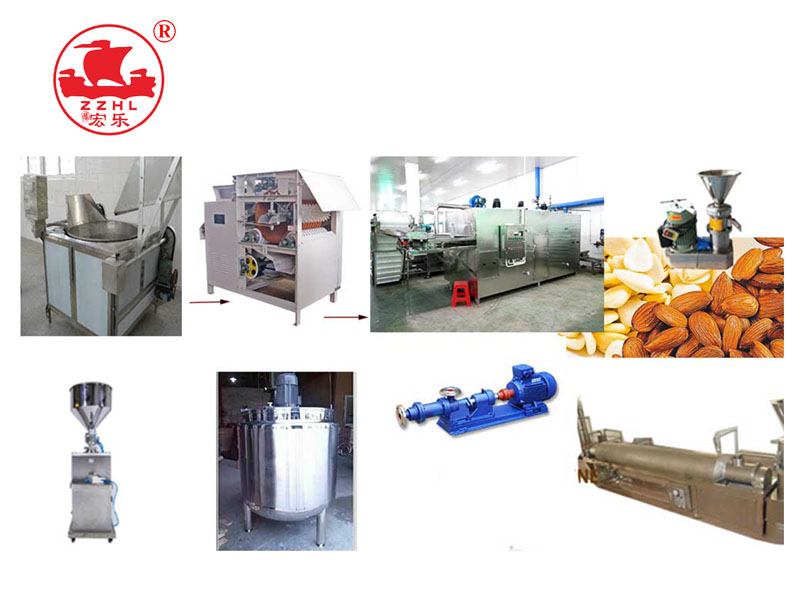 Cashew Almond Nut Shea Peanut Butter Processing Machine