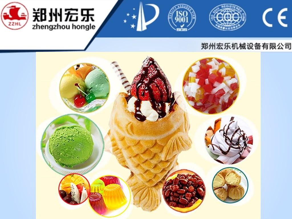 5 pcs open mouth korean ice cream fish waffle maker for Fish ice cream